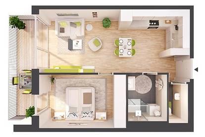 Provisionsfreie 2-Zimmer Neubau-Wohnung mit Terrasse (BW13)