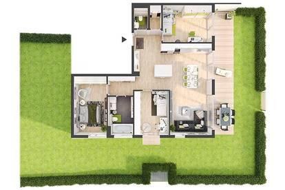 Provisionsfreie 4-Zimmer Neubau-Gartenwohnung (DW01)