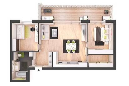 Provisionsfreie 3-Zimmer Neubau-Wohnung mit Balkon (W20)
