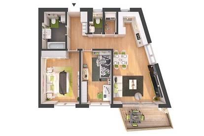 Provisionsfreie 3-Zimmer Neubau-Wohnung mit Balkon (W05)
