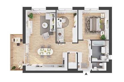Provisionsfreie hochwertige 3-Zimmer Dachgeschosswohnung (AW08)