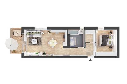 Provisionsfreie 2-Zimmer Neubau-Wohnung mit Balkon (CW03)