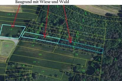 Großer Baugrund mit Wald und Wiese in 7441 Kogl, Obj. 12437-SZ