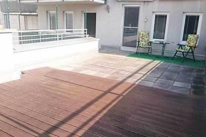 Barrierefreie Mietwohnung mit großer Terrasse im Zentrum von Korneuburg, Obj. 12477-SI