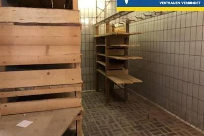 Lagerräume, zentrale Lage