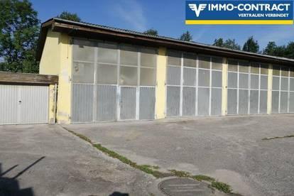 Halle, Werkstatt im Betriebsgebiet ,Nähe St. Pölten/Loosdorf zu mieten