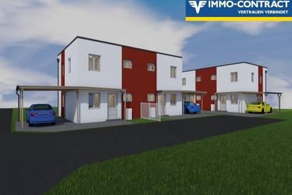 Wohnhaushälfte mit Carport und Eigengarten Top 1