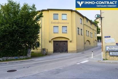 Ein Gebäudekomplex für Hotel oder Wohnprojekt mit großem Potential !
