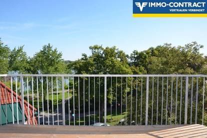 Lifestyle an der Donaulände mit 2 Terrassen