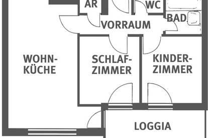 KLAGENFURT-VIKTRING: 3-Zimmermietwohnung zu vergeben!