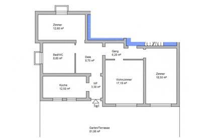 Erstbezug: Attraktive 3 Zimmer Wohnung