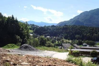 Baugrund in herrlicher Aussichtslage in Randlage von Bad Ischl!