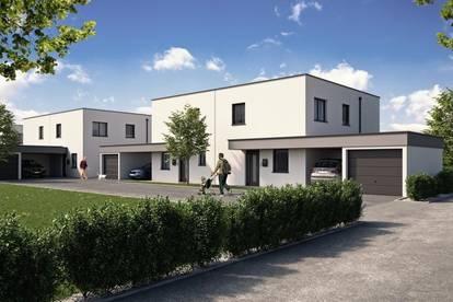 EINFAMILIENHAUS - SINNESREICH - H5 inkl. 2 Pkw-Abstellplätzen und großer Gartenfläche