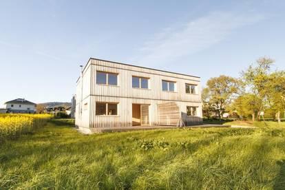 Holzhaus - Doppelhaushälfte