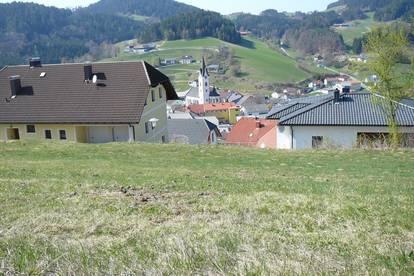 Sonniger Baugrund mit herrlichem Ausblick über Unterweißenbach
