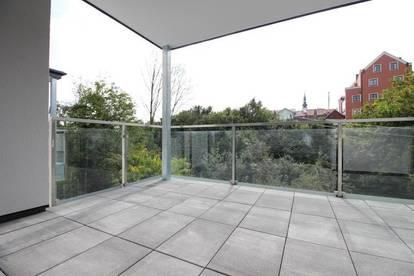 ERSTBEZUG - geräumige Mietwohnung mit Außenbereich und PKW-Stellplätzen