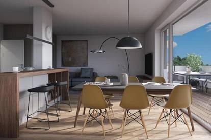 Wohnen in Tumeltsham - gut geschnittene 3-Zimmer-Dachterrassenwohnung