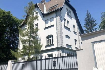 Traumhafte Jahrhundertwende-Stilvilla mit 4 vermieteten Wohnungen im Wohnungseigentum