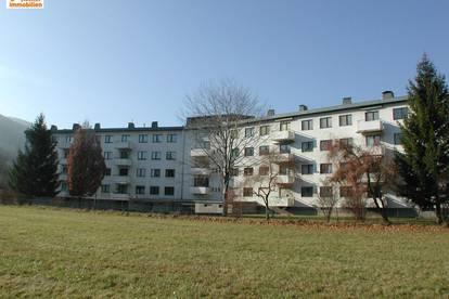 Mietwohnung im 1. Liftstock mit Balkon und Tiefgarage