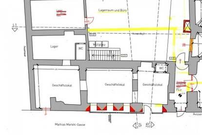 Eisenstadt - Zentrum! Toplage! 80 m2 großes Geschäftslokal zu vermieten!