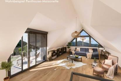 Penthouse-Maisonette - Am Bürgerbach W6 - VERKAUFT