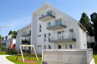 Neubau-Dachgeschosswohnung mit Balkon & TG-Platz