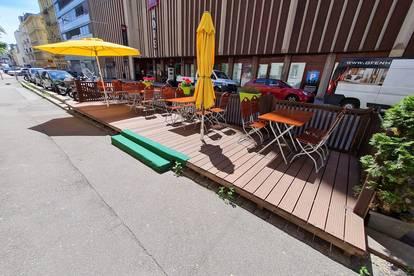 TOP Angebot - bekanntes Restaurant - geringe Miete - 2 Gastgärten - 200m von der Mariahilfer Straße