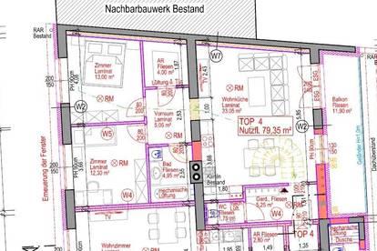 7131 Halbturn - 3-Zimmer Wohnung Erstbezug nach Generalsanierung