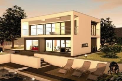 Provisionsfrei, frei planbar, moderner großzügiger Familientraum mit Grundstück in Toplage und Fernsicht zu verkaufen