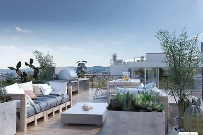 """""""Haus am Haus"""" EINZIGARTIGES 300m² PENTHOUSE mit 220m² TERRASSEN und 88m² DACHGARTEN - Kandlhof 1070 Wien"""