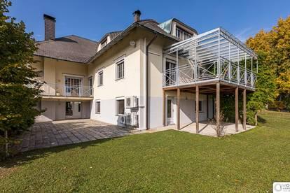 Herrschafltich Wohnen am Ölberg - einzigartige Familienvilla mit herrlichem Ausblick und romantischem Garten - 3400 Klosterneuburg