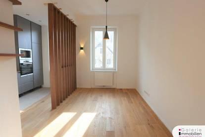 Exklusive sonnige 2-Zimmer-Wohnung mit Garten und Parkplatz
