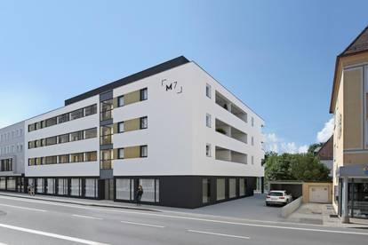 Attraktives Geschäftslokal - Neubau (M7): Zentrum Freilassing – zur Miete