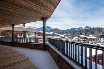 Edler Wohnkomfort mit Panoramablick  vom Wildem Kaiser bis hin zum Hahnenkamm