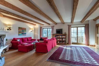 Charmantes Apartment in sonniger und idyllischer Panoramalage von Aurach