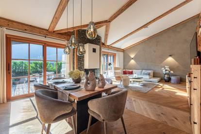 Sonniges Luxus-Penthouse mit einzigartigem Hahnenkamm- und Fleckalm-Blick