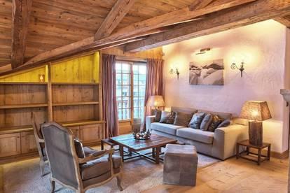 Exklusive vollmöblierte Wohnung mit Blick auf den wilden Kaiser und Ski out
