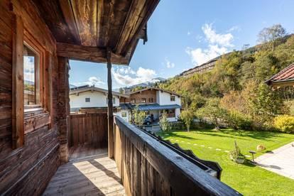 Bauernhaus im Retrostyle fussläufig zum Skilift in Jochberg