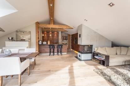 Penthouse-Appartement in Skipisten- und Zentrumsnähe