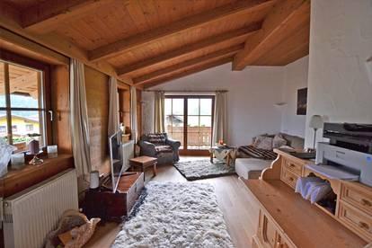 Stylische Penthousewohnung mit Freizeitwohnsitz in traumhaft sonniger Panoramalage von Going