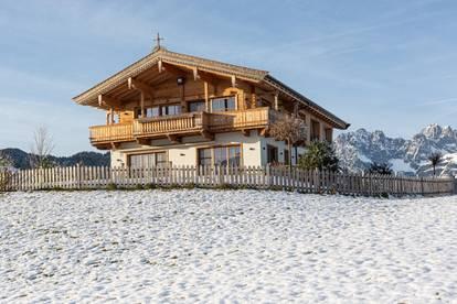 High-Class Living mit Freizeitwohnsitz in einzigartiger Panoramalage von Reith