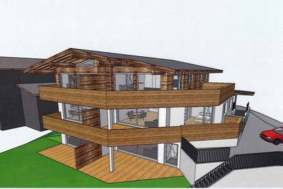 Neubau Dachgeschosswohnung in Waidring ( 04038 )