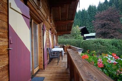 Reizende Wohnung mit Fernblick ( 02255 )