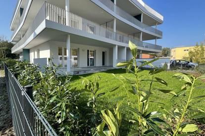 Gartenwohnung - Ebelsberg - TOP 5 - Miete mit 45 m² Terrasse !!
