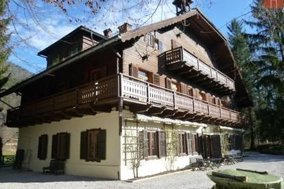 ST. WOLFGANG IM SALZKAMMERGUT: Landsitz mit Bootshaus, Tennisplatz, Gästehaus auf 17.140 qm Grund