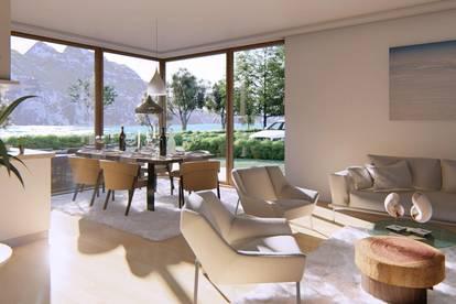 Lakeside Living am MONDSEE! Neubau-Gartenwohnungen mit Badeplatz und Seezugang