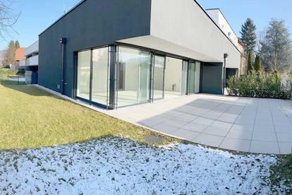 Sonnenstunden genießen! Neubau Gartenwohnung in perfekter Stadtlage und optimaler S/W-Ausrichtung