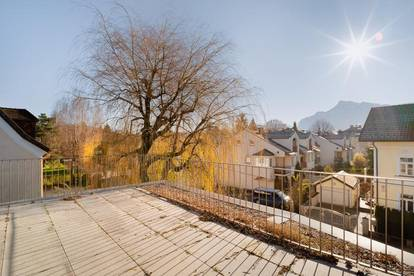 Blick frei!... Lifestyle-Wohnen in klassischer Villa mit 80 m² Panoramaterrasse
