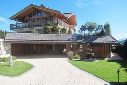 FREIZEITWOHNSITZ:  Luxuriöses Anwesen mit Gästehaus und unverbaubaren Blick in die Kitzbüheler Alpen!