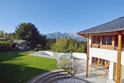 Panoramavilla auf 900 m Seehöhe perfekt in Szene gesetzt